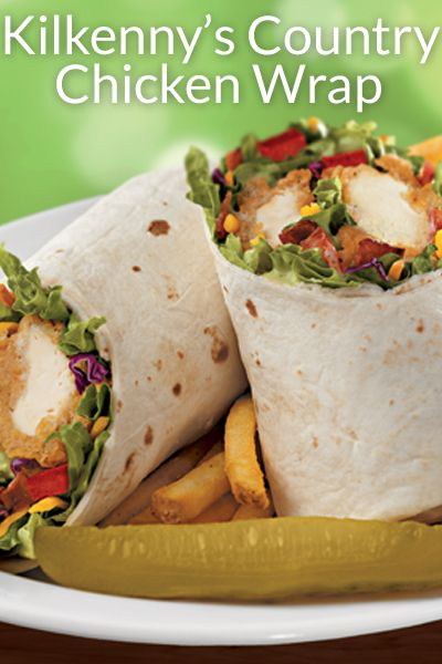 Kilkenny's Country Chicken Wrap